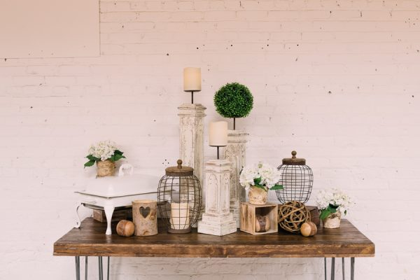 White Mountain Vintage decor package